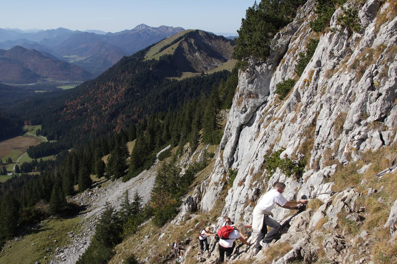 Klettersteig Buchstein : Rosenfeld on tour roßstein und buchstein